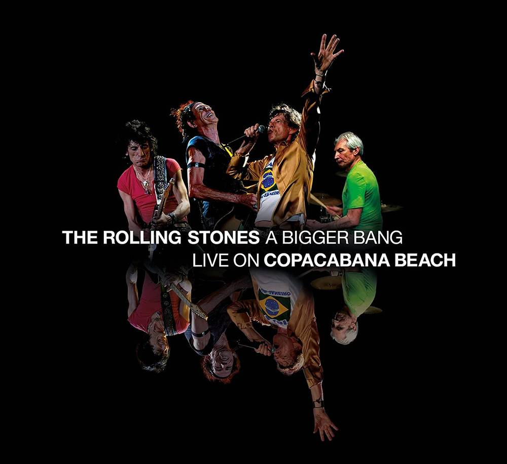 The Rolling Stones - A Bigger Bang Live On Copacabana Beach [Limited Edition Multi Color 3 LP]