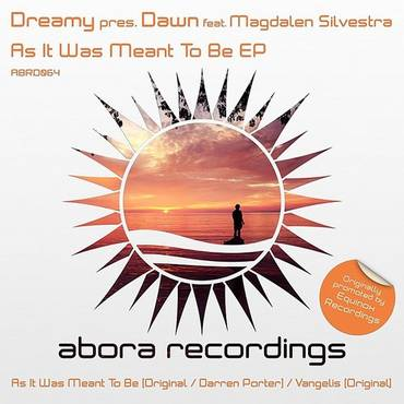 Dreamy Presents Dawn, Feat. Magdalen Silvestra: As It Was Meant To Be EP