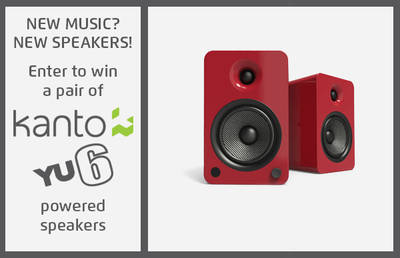 ENTER TO WIN A PAIR OF KANTO YU6 POWERED SPEAKERS
