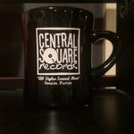 Central Square Records - BLACK COFFEE MUG