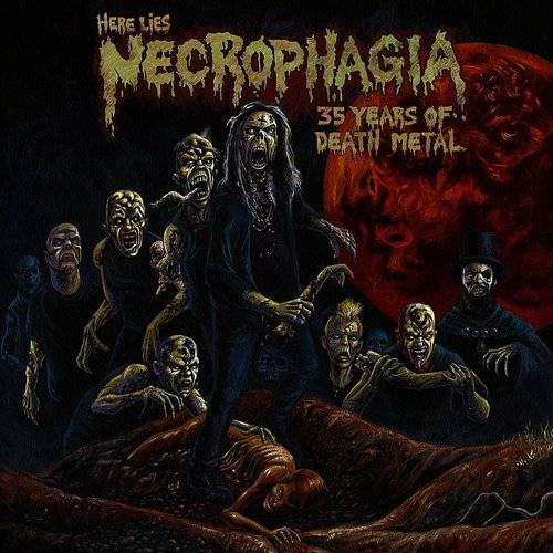 Here Lies Necrophagia; 35 Years Of Death Metal