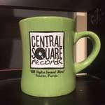 Central Square Records - LIME GREEN COFFEE MUG