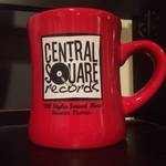 Central Square Records - RED COFFEE MUG
