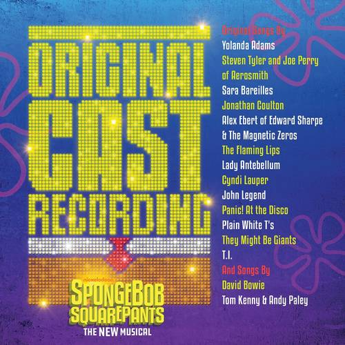 SpongeBob SquarePants, The New Musical (Original Cast Recording) [2 Yellow LP]