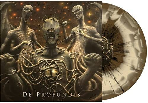 Vader - De Profundis [Gold & Bone W/ Black Splatter LP]