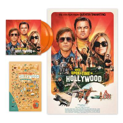 Various Artists - Quentin Tarantino's Once Upon a Time in Hollywood Original Motion Picture Soundtrack [Indie Exclusive Limited Edition Orange2LP]