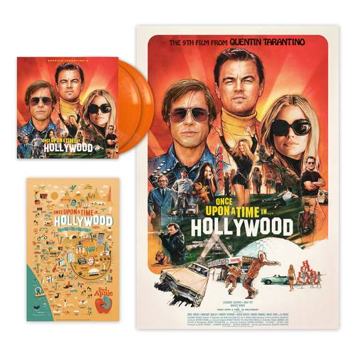 Quentin Tarantino's Once Upon a Time in Hollywood Original Motion Picture Soundtrack [Indie Exclusive Limited Edition Orange2LP]