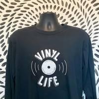 CSR Merch - Vinyl Life Long Sleeve Black