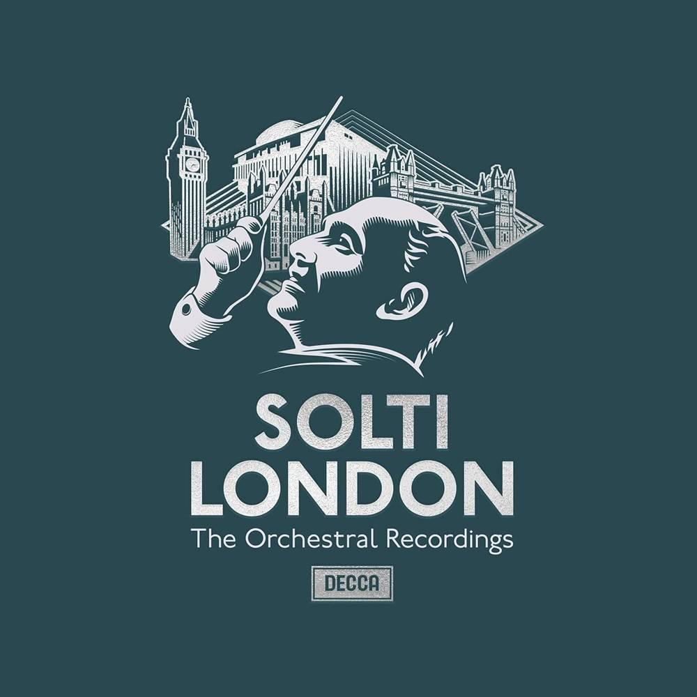 Sir Georg Solti - Solti In London [36 CD Box Set]