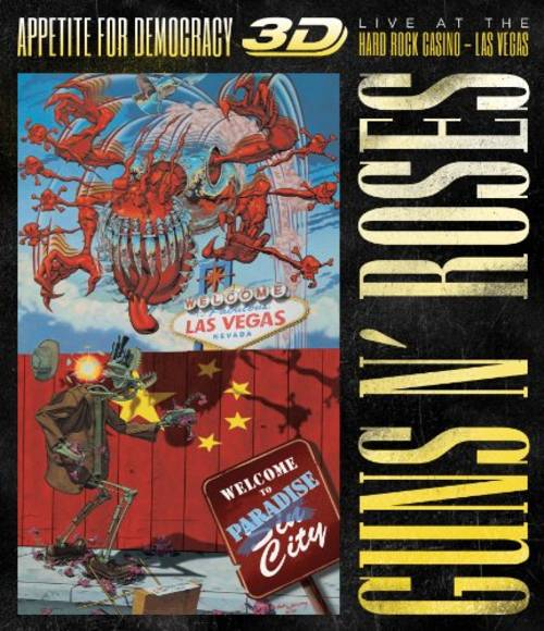Appetite For Democracy 3D: Live at the Hard Rock Casino- Las Vegas