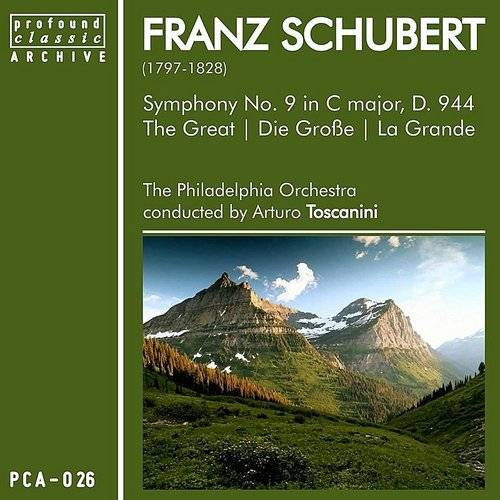 "Franz Schubert: Symphony No. 9, D. 944 ""The Great"""