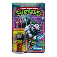 Tmnt - TMNT ROCKSTEADY REACTION FIGURE