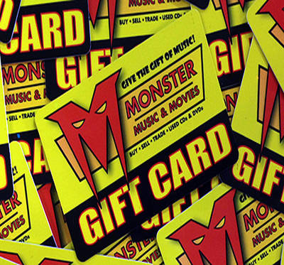 Monster Music - Gift Certificate - $100.00