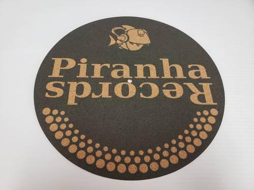 Piranha Records - Cork Slipmat