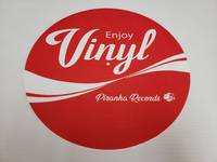 Piranha Records - Enjoy Vinyl Felt Slipmat