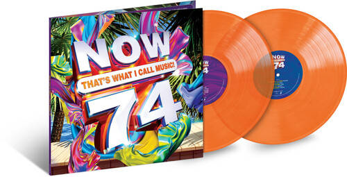 NOW That's What I Call Music, Vol. 74 [Translucent Orange 2LP]