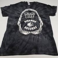 Piranha Records - Black Swirl We Don't Bite Logo Shirt [Large]