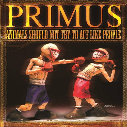 Animals Should Not Try To Act Like People EP [Opaque Yellow Vinyl]