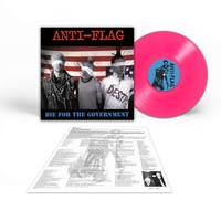 Anti-Flag - Die For The Government [Limited Edition Semi-Transparent Neon Pink LP]