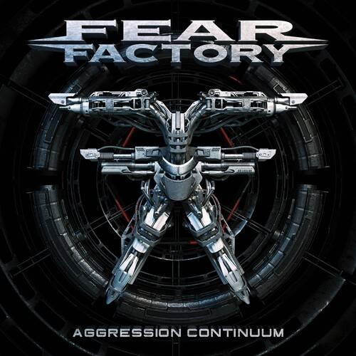 Fear Factory - Aggression Continuum [Black Blue w/ White Splatter 2LP]