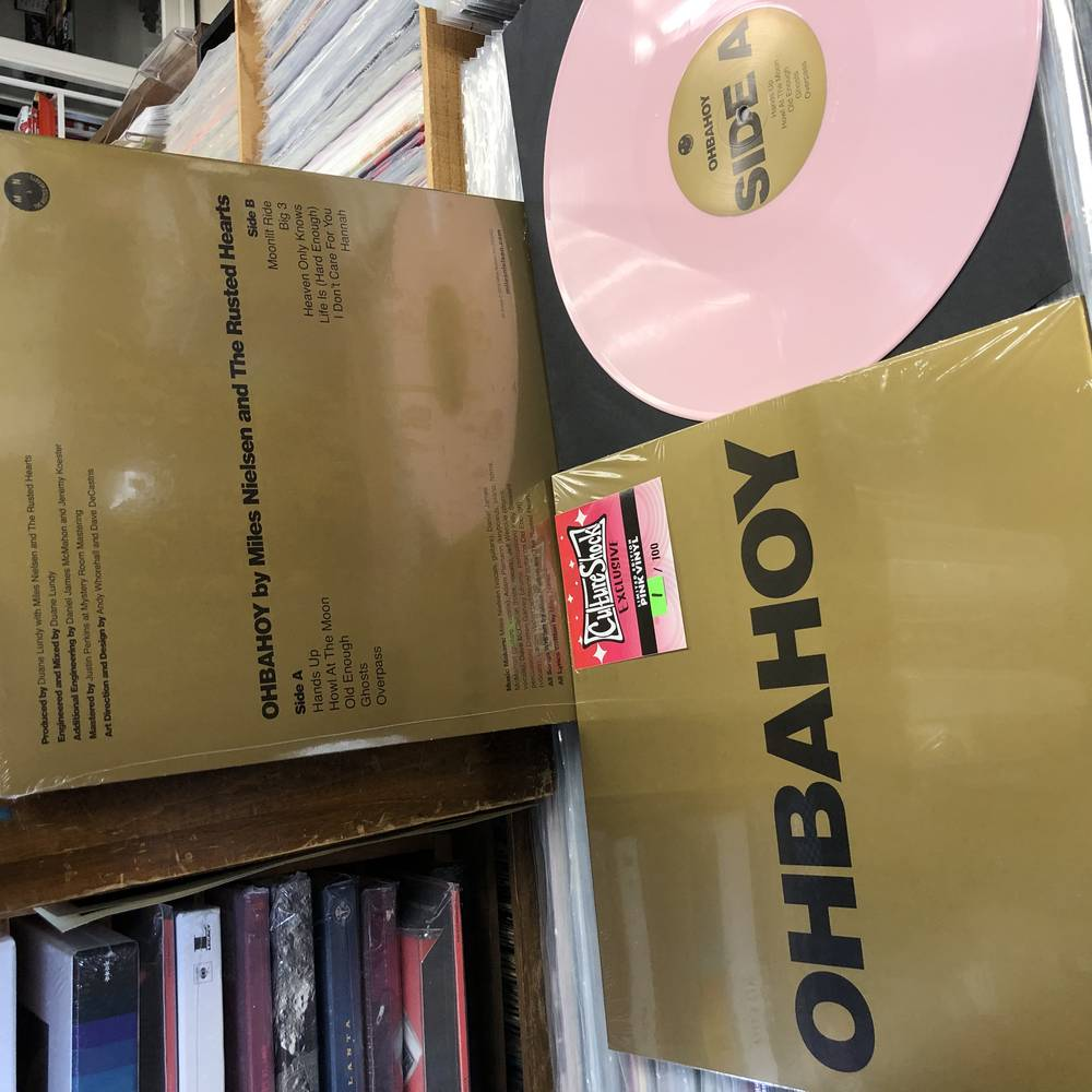 Miles Nielsen - Obahoy (Ltd pink vinyl)