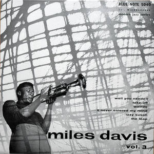 Miles Davis - Vol. 3 (10-Inch Re-issue)