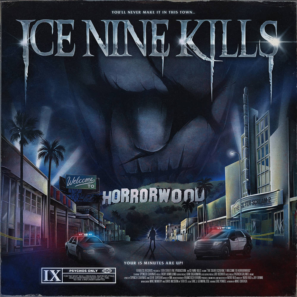 Ice Nine Kills - Welcome To Horrorwood: The Silver Scream 2 [Indie Exclusive Limited Edition Ultra Clear 2LP]