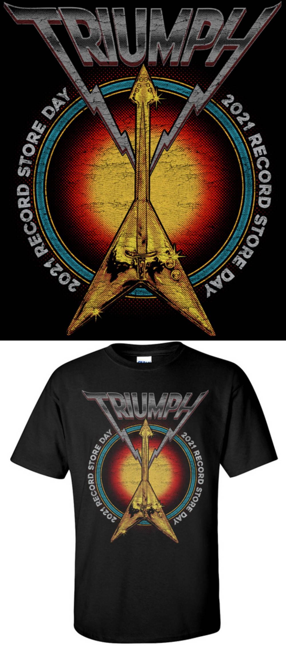 Record Store Day - TRIUMPH RSD 2021 T-SHIRT [UNISEX S]