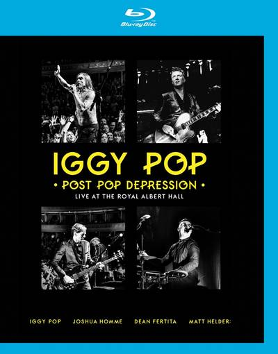 Iggy Pop - Post Pop Depression: Live At The Royal Albert Hall [Blu-ray+2CD]