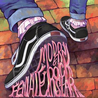 Modern Female Rockstar (Ltd) (Purp)