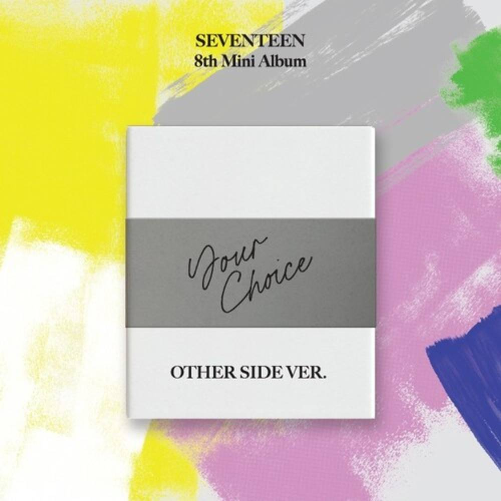 Seventeen - SEVENTEEN 8th Mini Album 'Your Choice' (OTHER SIDE version)