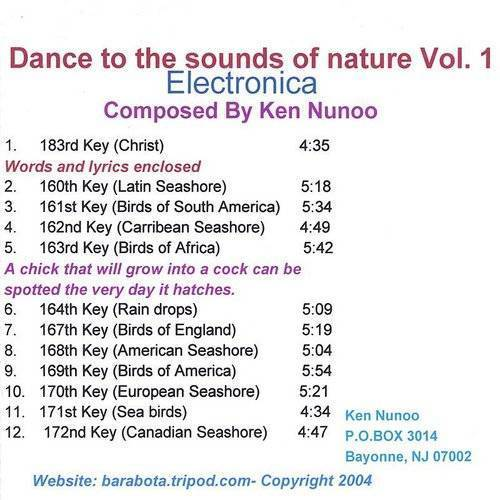Vol. 1-Dance To The Sounds Of Nature