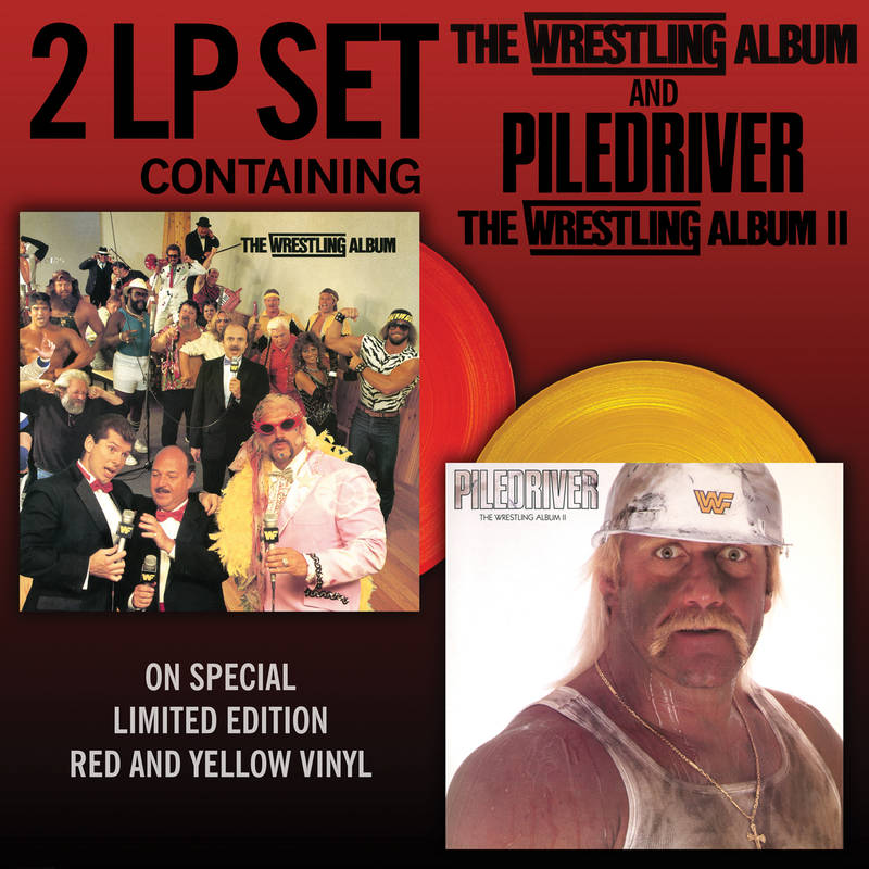 VARIOUS ARTISTS THE WRESTLING ALBUM PILEDRIVER THE WRESTLING ALBUM PILEDRIVER