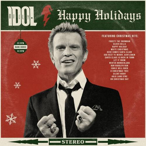 Billy Idol - Happy Holidays [Indie Exclusive Limited Edition White LP]
