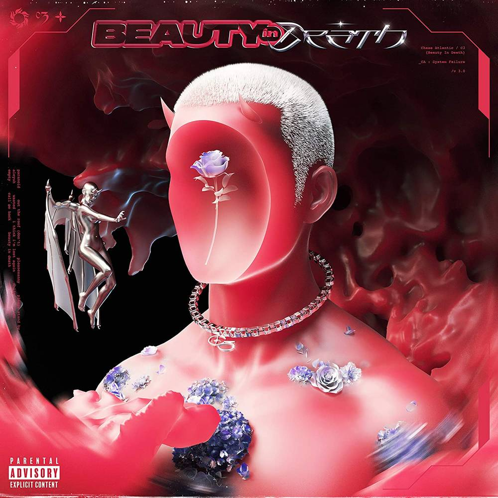 Chase Atlantic - Beauty In Death [Red & Black LP]