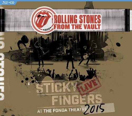 From The Vault: Sticky Fingers Live at The Fonda Theatre 2015 [Blu-ray/CD]
