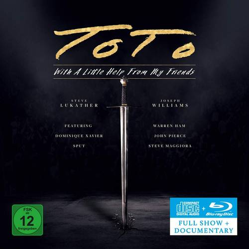Toto - With A Little Help From My Friends [CD/Blu-ray]