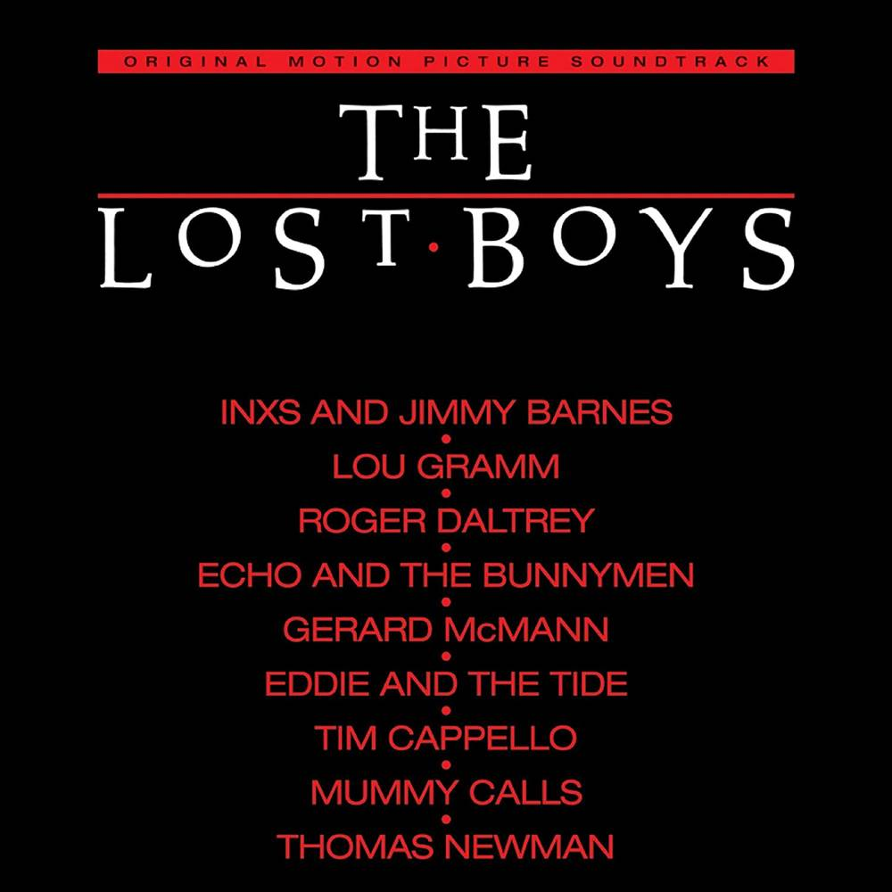 Various Artists - The Lost Boys - Original Motion Picture Soundtrack [Limited Anniversary Edition 180 Gram Translucent Red  Audiophile LP]