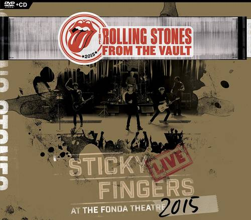 From The Vault: Sticky Fingers Live at The Fonda Theatre 2015 [DVD/CD]