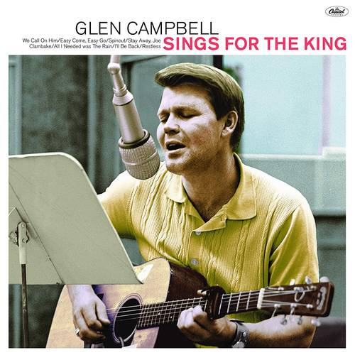 Glen Sings For The King [LP]