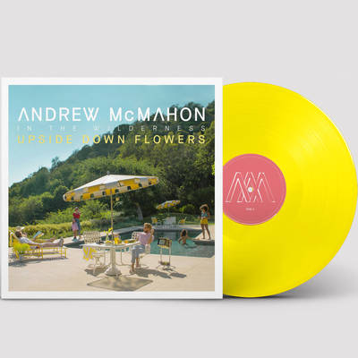 Andrew McMahon in the Wilderness - Upside Down Flowers [Indie Exclusive Limited Edition Yellow LP]