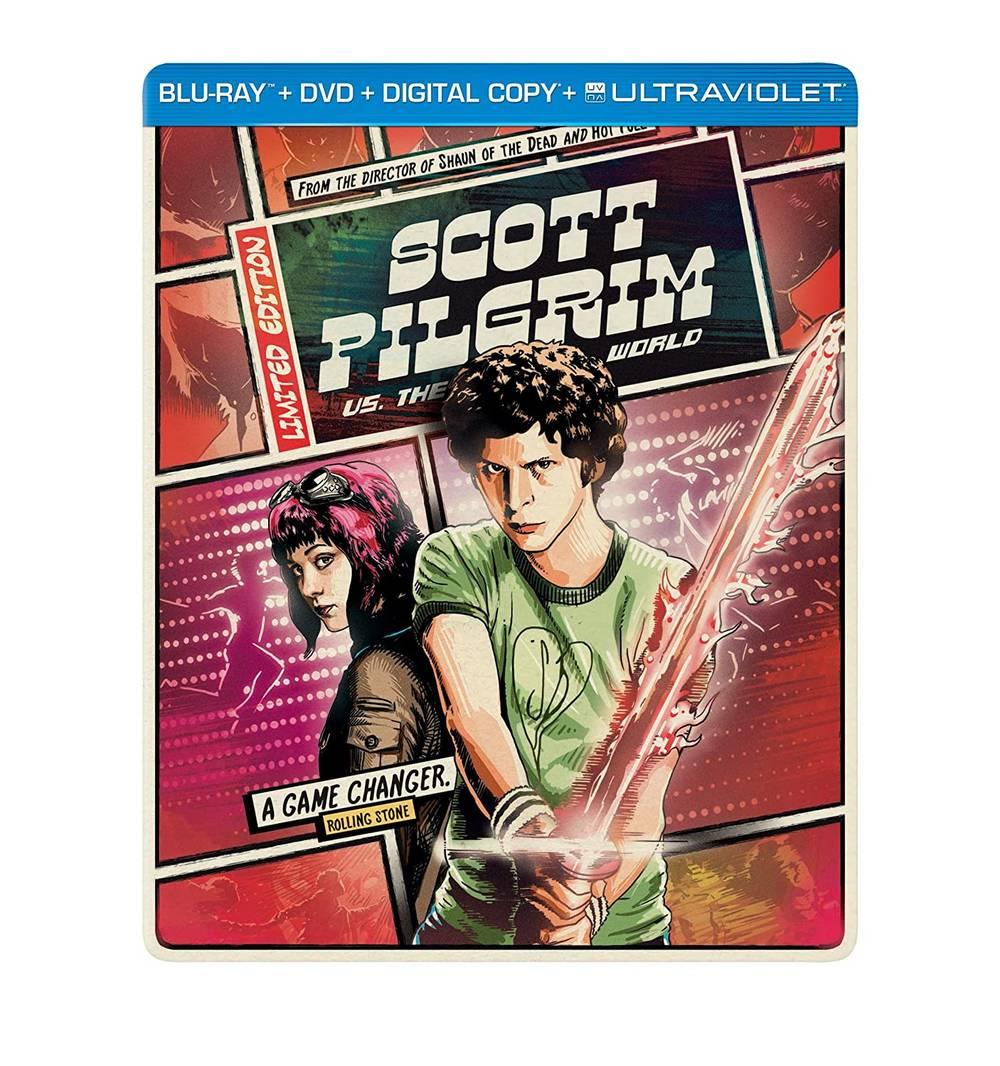 Scott Pilgrim vs. The World [Movie] - Scott Pilgrim vs. the World [Steelbook]