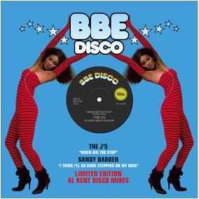 "Record Store Day Special: ""When Did You Stop"" b/w ""I Think I'll Do Some Stepping On My Own"" (Al Kent Disco Mixes)"