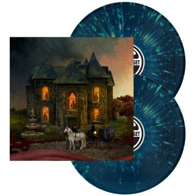 Opeth - In Cauda Venenum [Indie Exclusive Limited Edition Blue/Mint Green Splatter LP - English Version]