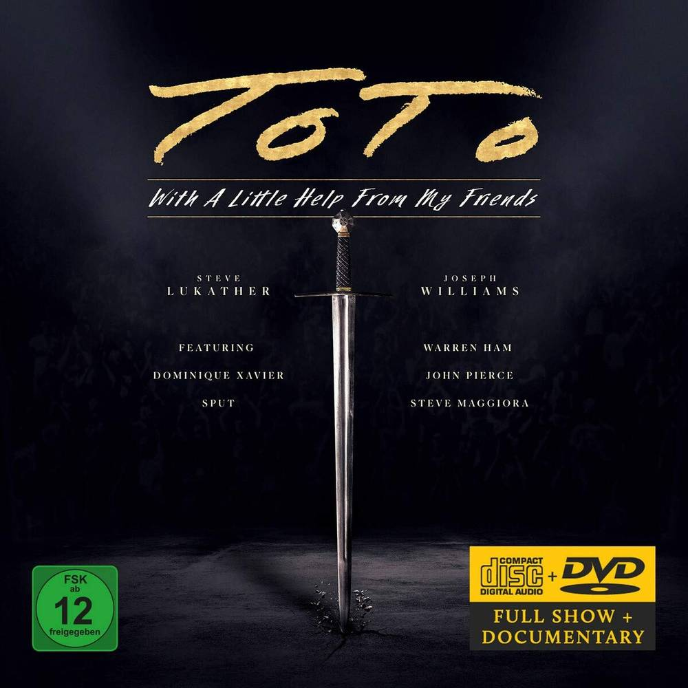 Toto - With A Little Help From My Friends [CD/DVD]