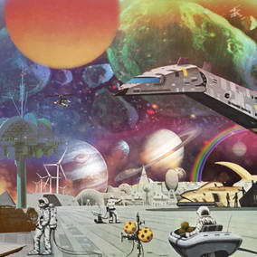 Jazz Dispensary MOON ROCKS: Extraplanetary Funk, Space Disco and Galactic Boogie