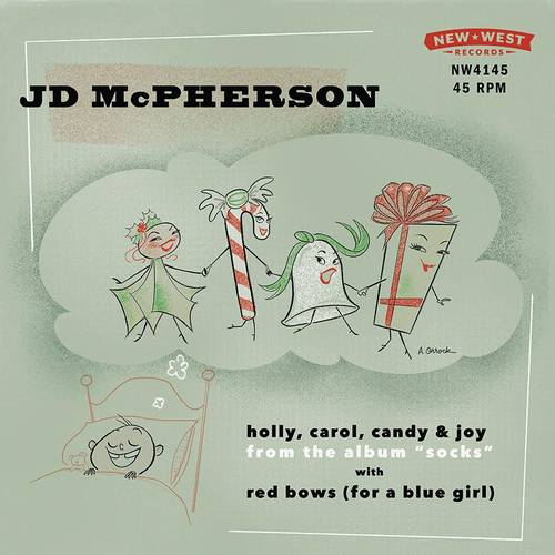 """Red Bows For A Blue Girl"" / ""Holly, Carol, Candy and Joy"" RSD BF 2019"