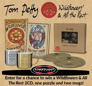 ENTER TO WIN AMAZING TOM PETTY PRIZE PACKAGE!