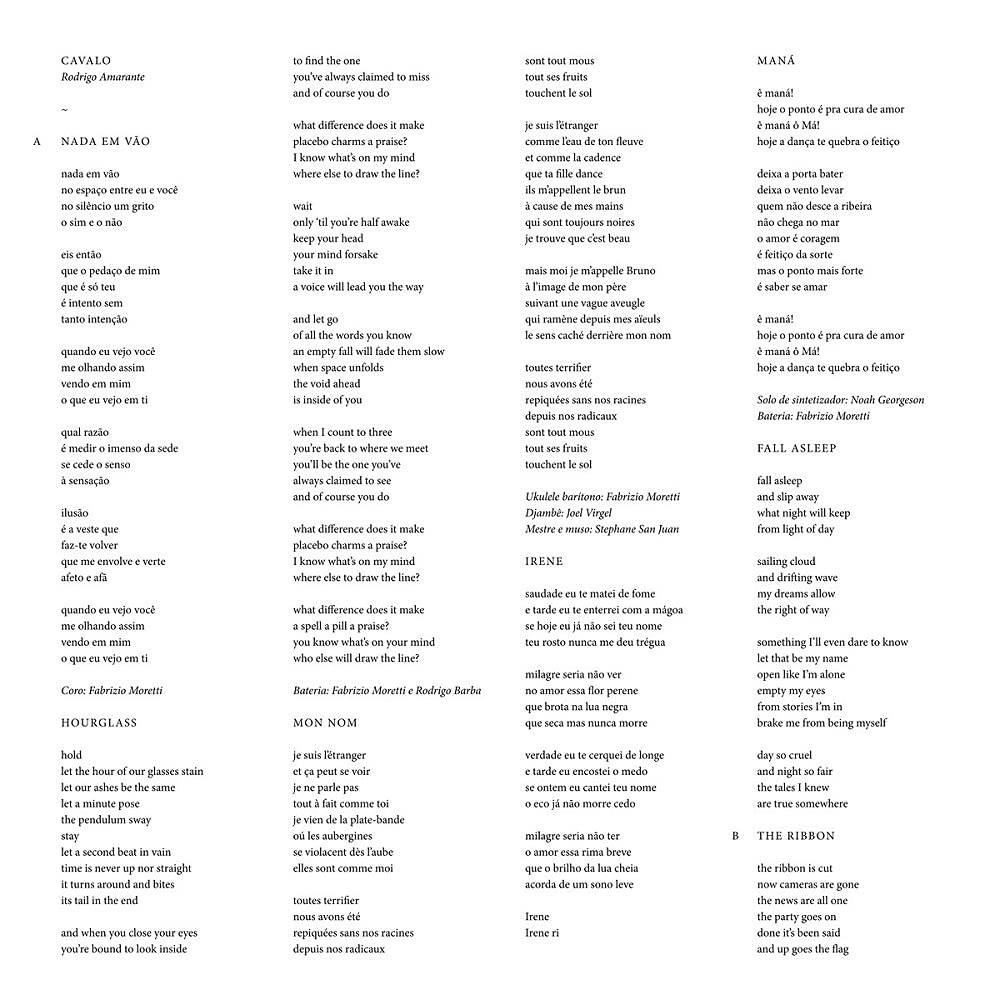 Rodrigo Amarante - Cavalo [Limited Edition Neon Orange LP]