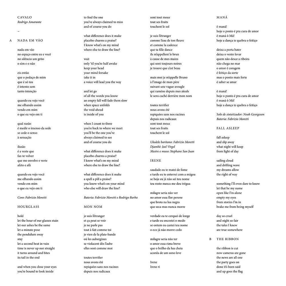 Rodrigo Amarante - Cavalo [Indie Exclusive Limited Edition White Cassette]